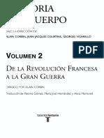 Corbin Alain - Historia Del Cuerpo 2 - De La Revolucion Francesa A La Gran Guerra.pdf