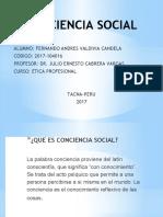 Conciencia Social