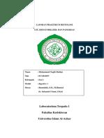 Laporan Praktikum Git Hepatobiller Dan Pankreas