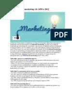 La Historia Del Marketing