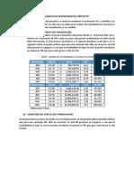 Analisis de Sensibilidad Del Proyecto (1)