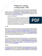Fishing & Cooking Leveling Guide 1-525