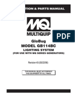 Lighting Solutions Balloon Systems GLOBUG Rev 3 Manual