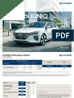 Listino_Hyundai IONIQ Plug-In