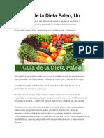 Lo Más Básico de La Dieta Paleo