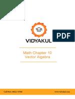 NCERT Solutions Class 12 Maths Chapter 10 Vector Algebra