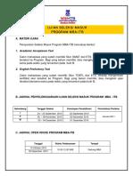 Petunjuk Pendaftaran January 20111