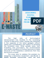 Designing Digital Portable Microscope From E-waste