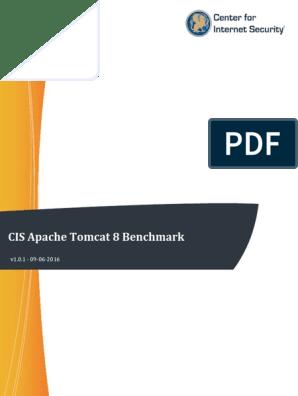 CIS Apache Tomcat 8 Benchmark v1 0 1   Port (Computer