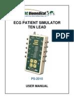 spesifikasi Patient Simulator BC Biomedical PS-2010