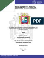 El Nivel de Los Fundamentos Técnicos Del Futbol Tesis