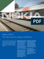 Nokia GSM-R Brochure En