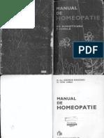 Manual De Homeopatie