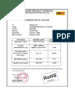 COA FORTEBOND LIGNO® PG 6240 P #001