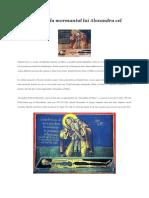 Sfantul Sisoe La Mormantul Lui Alexandru Cel Mare