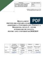Reg Utm Admiterea Ciclul1 2018