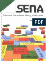 SENA. Manual de Aplicación, Corrección e Interpretación