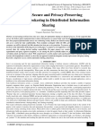 Enforcing Secure and Privacy-Preserving Information Brokering in Distributed Information Sharing