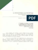 El financiamiento de la Republica Dominicano en los anos 90
