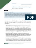 Big Online Spenders Embrace Social Technologies
