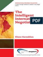 The Intelligent Internationall Negotiator