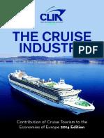 Clia Economic Contribution Report - 16th June 2014