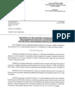 Fox Creek Recorded Poa Amendment