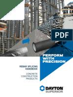 Dayton Concrete Accessories Rebar Splicing Handbook 1441539