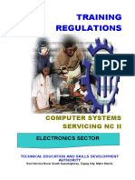 TRAINING REGULATIONS Computer Systems Servicing NC II.doc