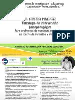 CIRCULO MAGICO PROBLEMAS CONDUCTA AULA congreso Criminología.pdf