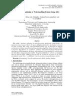 FPGA Implementation of Watermarking Scheme Using XSG