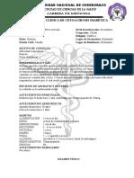 Historias Clinicas de Medicina Interna