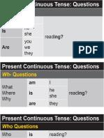 Present continuous tense - Questions.pdf