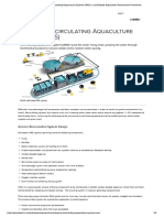 Intensive Recirculating Aquaculture Sys..