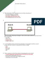 CCNA Exploration v4 Network Fundamentals Chapter 08 Grade 100