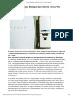 SolarPro_9.4_Residential Energy Storage Economics