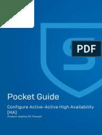 Active Active HA Configuration