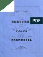 Nocturne élégant par Marmontel