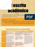 Escrito Academico Procedimiento