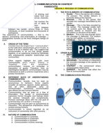 Oral Communication in Context Handouts