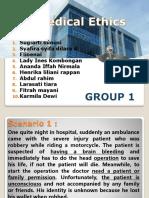 MEDICAL ETHIC SEMESTER 1 FK