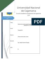 Sistema de Posicionamiento Global, Coordenadas Geograficas y UTM