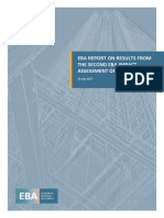 EBA Report on Results From the 2nd EBA IFRS9 IA
