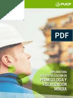 Brochure Diplomatura de Especializacion en Permisologia y Fiscalizacion Minera 1