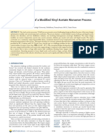 Design and Control of a Modified Vinyl Acetate Monomer Process