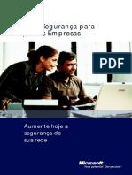 Guia de Segurança Para Pequenas Empresas - Microsoft