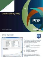Clone Dictionary - Read Me