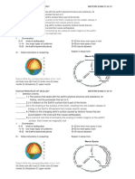 Eg410a Principles of Geology - Midterm Exam