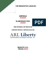Procedimiento Matriz de Requisitos Legales Ris 2015