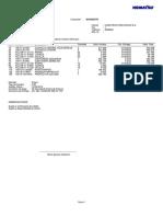 Elementos Desgaste 375A-6R